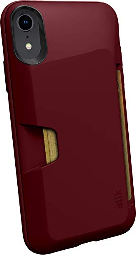 Silk iPhone XR Wallet Case - Wallet Slayer Vol. 1 [Slim + Protective] Credit Card Holder for Apple iPhone 10R - Red Rover Red Rover (Renewed)