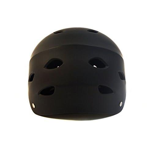 STREETSTAR, noir mat, size S, casque pour Waveboard, Skateboard et BMX