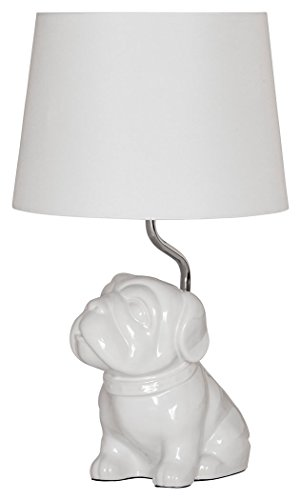 Top bulldog lamp with shade