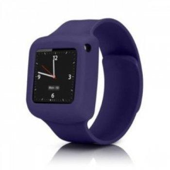 Griffin Slap Flexible wristband Bracelet Case iPod Nano 6th Generation Purple