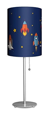 Lampables Children's Collection (Space Rockets) - table desk lamp by Lampables
