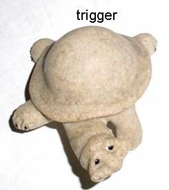 QUARRY CRITTERS TRIGGER TURTLE for sale  Delivered anywhere in USA