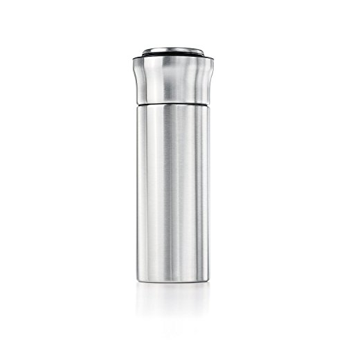 OXO SteeL Press & Pour Insulated Cocktail Shaker (Oxo Good Grips Ice Bucket With Tongs)