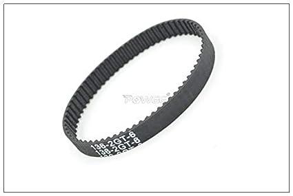 Ochoos 130//132//134//136 2GT Timing Belt W=3//6//9mm Teeth 65//66//67//68 GT2 Closed-Loop Synchronous Belt 134-2GT 136-GT2 Width: 6mm, Length: 136 GT2