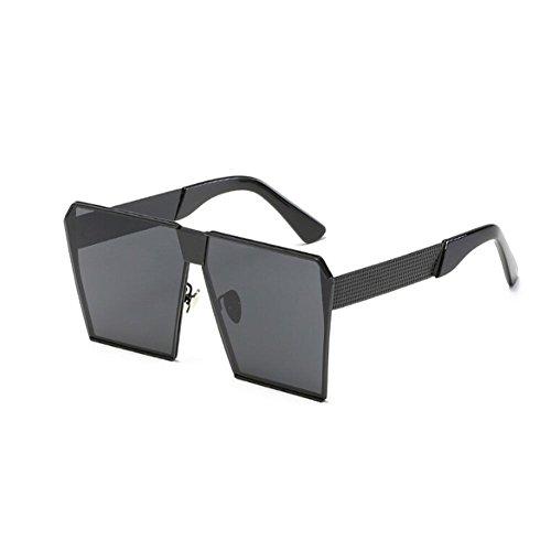 Claro Cuadrado Mujer Hombre de UV400 y Conducción Hzjundasi o Gafas Marco Hombre de Gris Vendimia Negro sol Metal sol Mujer Gafas Pescar Gafas azdqwd