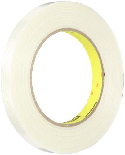 Tape 897 Filament - Scotch Filament Tape 897 Clear, 12 mm x 55 m (Pack of 18)