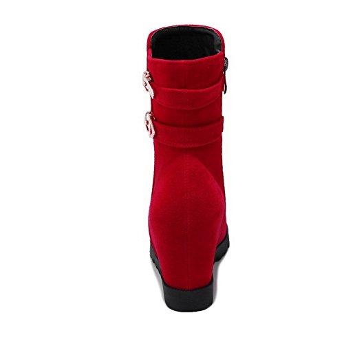 Red Compensées Paris Sandales Abl09435 Femme Wihhe6 For Balamasa 1drwd