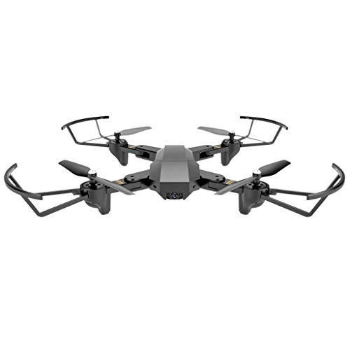 Drone with Camera, WiFi FPV Quadcopter with Wide-Angle HD Camera Live Video Mobile APP Control RC Helicopter - Height Hold, One Button Start