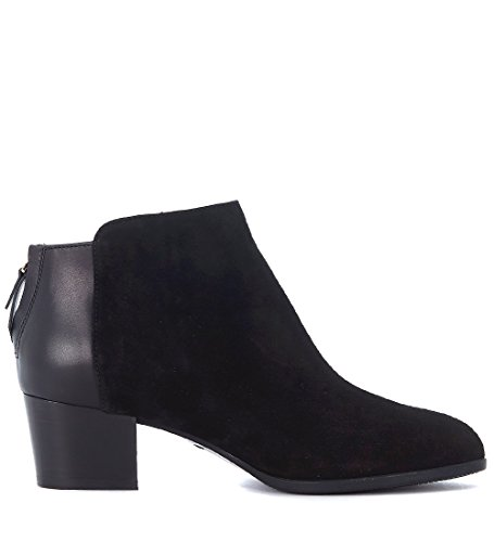 free shipping footaction pay with visa for sale Hogan Women's H314 Suede and Leather Ankle Boots Black free shipping pictures vHP7NF8wQW