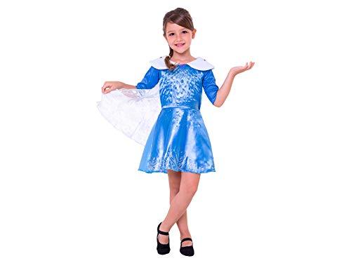 Fantasia Elsa Infantil Frozen - Olaf Uma Aventura Congelante P 2-4