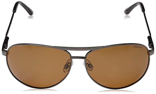 Marrón Polarized Gafas 61 de mm Polaroid Sol P8417 wq0A7nqtf