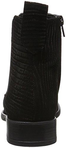 black Femme 25036 006 Tamaris Noir Chelsea Struct Bottes 6Xdwtz