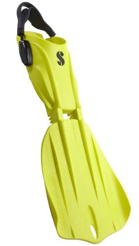 Scubapro Seawing Nova Pivot-Blade Open-Heel Dive Fins Large Yellow