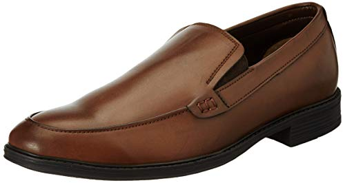 Amazon Brand – Symbol Men's Tan Formal Slip-On Shoes