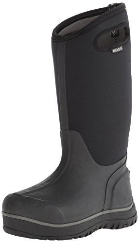 Bogs Women's Ultra High Waterproof Insulated Boot, Black,11 M US