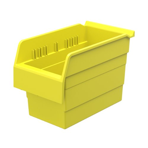 AKRO-MILS 30860 ShelfMax 8 Plastic Nesting Shelf Bin Box,...