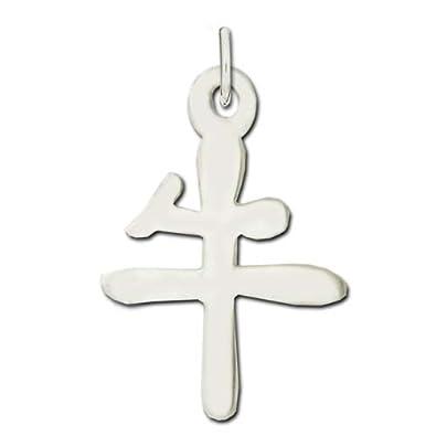 Amazon Jewelry Adviser Chinese Kanji Symbols Sterling Silver Ox