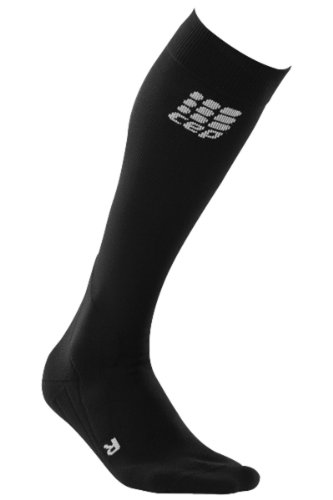 CEP calcetines para hombre riding jinete calcetines, colour: negro;Tamaños: 39-44 cm=tamaño IV
