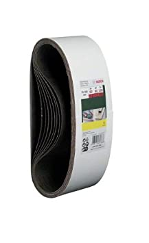 Bosch 2607017155 Set 9 Nastri Abrasivi 75 x 533 mm P60//80//100