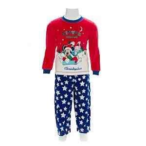 Mickey Mouse Christmas Pyjamas (can be personalised): Amazon.co.uk ...