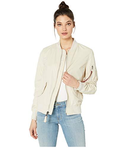 - Alpha Industries Women's L-2B Scout Jacket Vintage White Medium