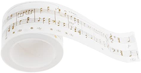 長さ5m 幅30mm 和紙 粘着性 マスキングテープ ペーパーテープ ロール 装飾テープ 手帳 ノート プランナー 飾り用 全2デザイン - #2