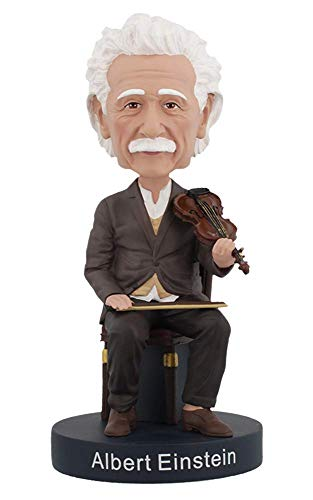 Royal Bobbles Albert Einstein Violin Bobblehead