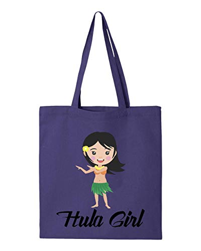 Hawaii Hula Girl Matching Couples Maui Kauai Oahu Hawaiian Islands Tote Handbags Bags for Work School Grocery Travel (GSP) ()