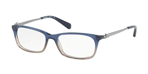 Eyeglasses Coach HC 6110 5489 DENIM TAUPE GLITTER - Gradient Eyeglass Frames