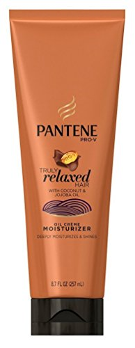 Pantene Truly Relaxed Moisturizer Oil Creme 8.7 Ounce (257ml) (2 Pack) (Best Moisturizer For Dry Relaxed Hair)