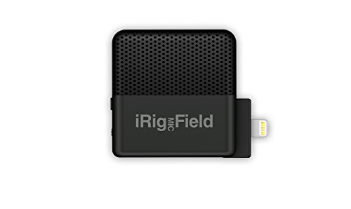 IK Multimedia iRig Mic Field stereo condenser microphone for iPhone and iPad - IP-IRIG-FIELD-IN