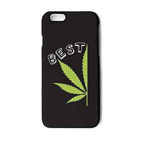 Xanx Smon iPhone 7 Plus Case iPhone 8 Plus Case Best Buds Pot Leaf Marijuana Weed TPU Shockproof Protective Phone Case Cover for iPhone 8 Plus/iPhone 7 Plus