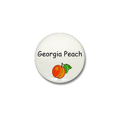 CafePress Georgia Peach Souvenir Mini Button 1
