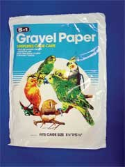 Bird Gravel Paper [Set of 3] Size: 8.75'' x 13.38'' by eCOTRITION