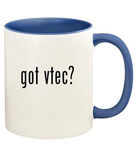 got vtec? - 11oz Ceramic Colored Handle and Inside Coffee Mug Cup, Cambridge Blue