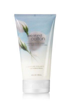 Bath & Body Works Sea Island Cotton Creamy Body Wash 8 fl oz [Health and Beauty] from Bath & Body Works