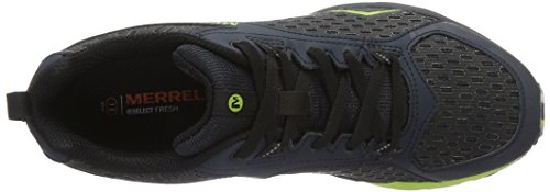 Zapatillas De Running Merrell All Out Crush Tough Mudder Trail - Medianoche Ss17