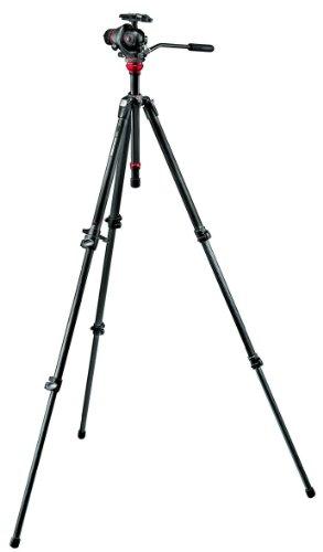 Manfrotto 755CX3-M8Q5 Tripod Kit with Photo Movie Head and Carbon Fiber Tripod