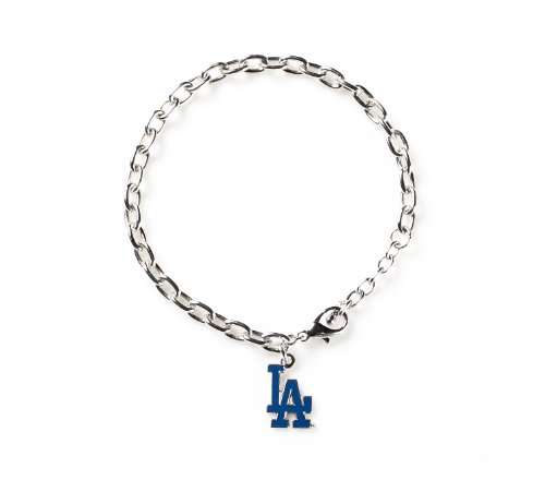 [MLB Los Angeles Dodgers Logo Bracelet] (Mlb Jewelry)