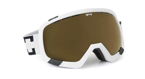 Spy Optic Platoon Goggles (White, Bronze (Persimmon)), Outdoor Stuffs