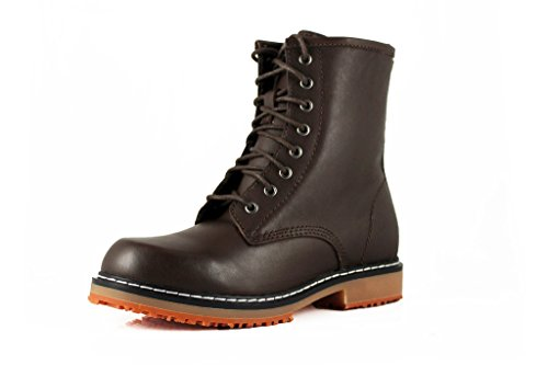 Townforst Women's Fashion Slip and Oil Resistant Marten Non Slip Work Leather Casual Safety Trendy Boot