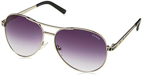 GUESS Sol Gafas de Plateado Mujer para 35A59 Guf241Si 59 rxqwr6A