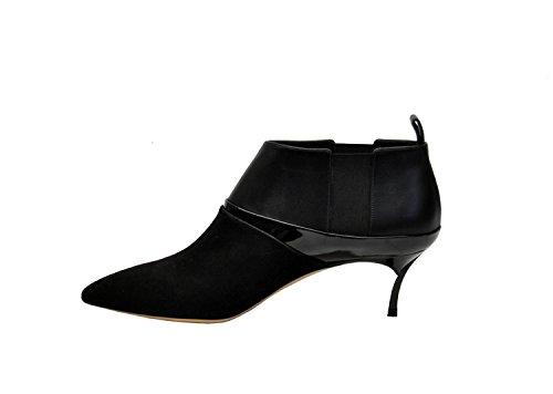 Casadei Scarpe Con Tacco Donna 1Q503E050HT946000 Camoscio Nero