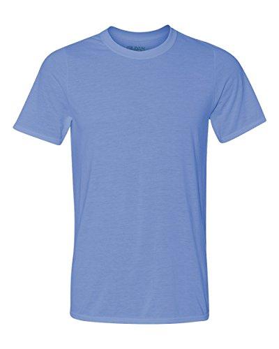 New Gildan Classic Fit Mens Large L Adult Performance Short Sleeve T-Shirt Blue