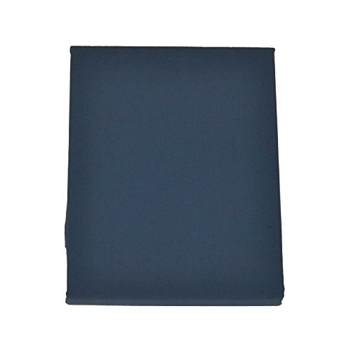 FULI 100% Cotton Cover for Traditional Japanese Floor Futon Mattress, Full XL, Navy. Made in Japan