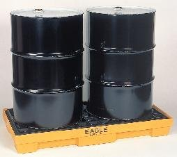 One-Drum Platform - Modular Spill Containment Platforms with Grating, Eagle Manufacturing (Modular Spill Containment Platform)