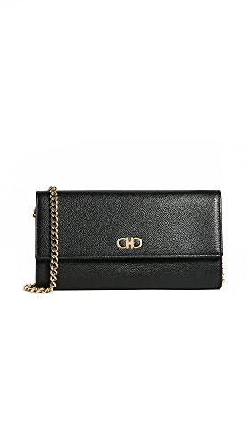 Gancini Mini Body Nero Cross Ferragamo Women's Salvatore 8HwSPP
