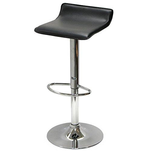 ePhoto Contemporary Adjustable Swivel Bar Stool YW1003