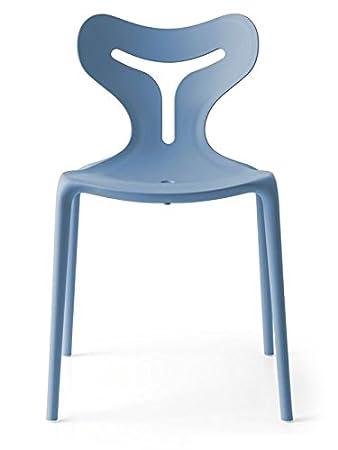 Amazon.de: Calligaris Set 4 Stühle Area51 stapelbar auch für ...