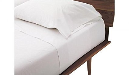 Queen Sleeper Sofa Bed Sheet Set - White 100 Percent Egyptian Cotton